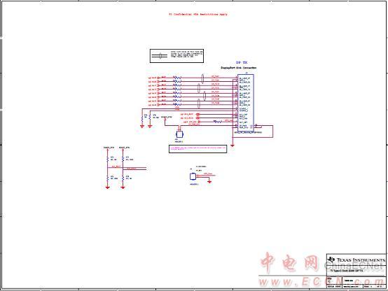 图6. usb type-c坞站参考设计tida-00630电路图(3)