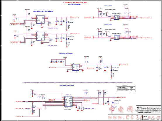 图9. usb type-c坞站参考设计tida-00630电路图(6)