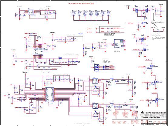 type-c坞站参考设计tida-00630电路图(8)