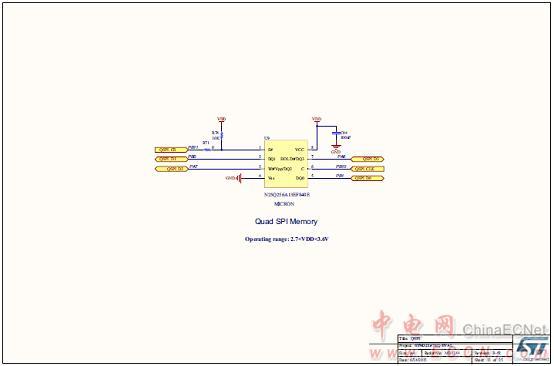 图17.评估板stm32l476g-eval电路图(13):quad-spi闪存